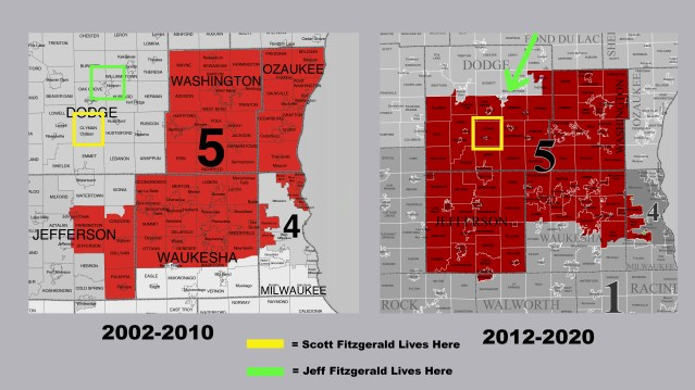Republican redistricting put Fitzgerald brothers – who live 13 miles apart – in different congressional districts