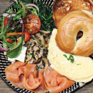 Image of Special Brekie available from The Bagel Co, Rose Bay