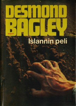 Desmond Bagley Running Blind - Finnish Werner Söderström Ed. 1972
