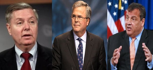 1 All Current GOP Moderates Candidates