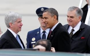 Snyder Obama Meet