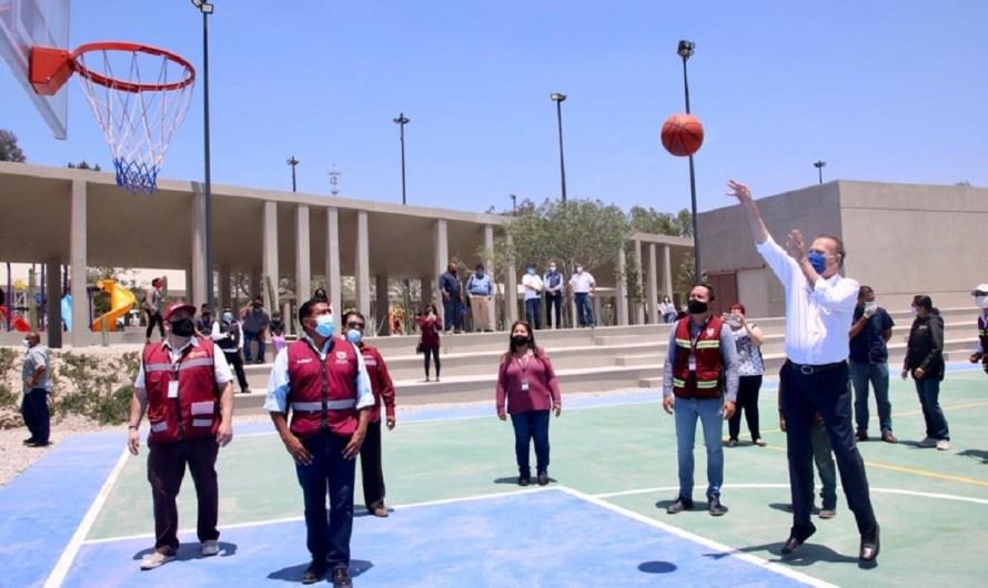 Inaugura Gonzalez Cruz Centro Cultural Deportivo El Mirador en Tijuana