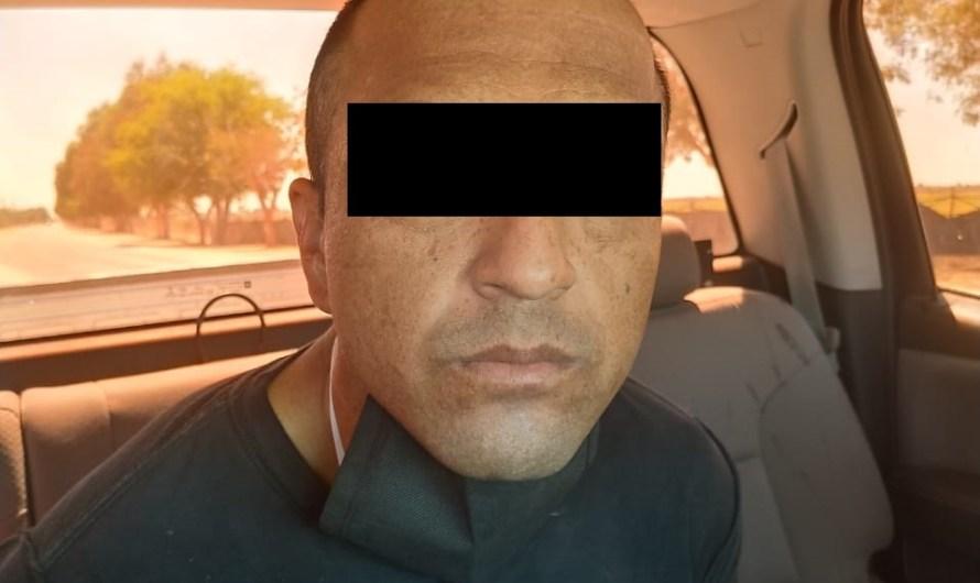 Prófugo de Estados Unidos, fue detenido por la la Guardia Estatal en el Valle Mexicali