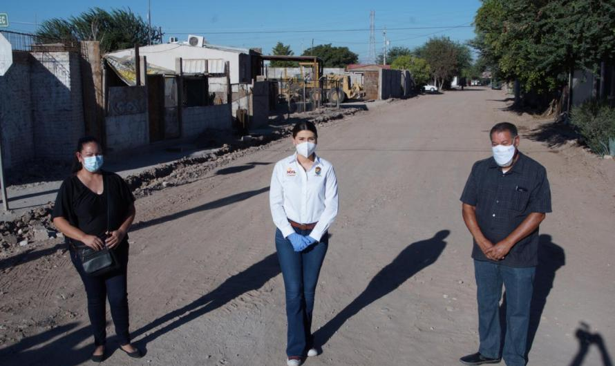 Invierte Ayuntamiento de Mexicali 11.3 MDP en pavimentación de Ampliación Xochicalli