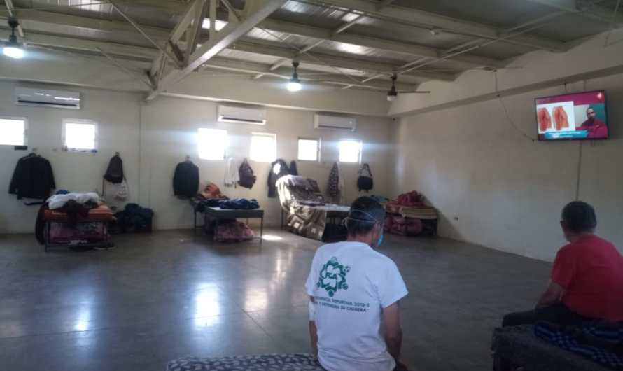 Activa ayuntamiento de Mexicali albergue peregrino cómo refugio en temporada de calor