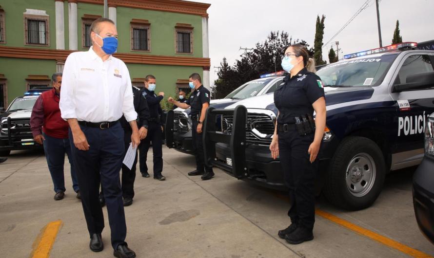 Entrega Ayuntamiento de Tijuana 11 patrullas para programa de Fortalecimiento y Equipamiento de la Policía Municipal y Tránsito