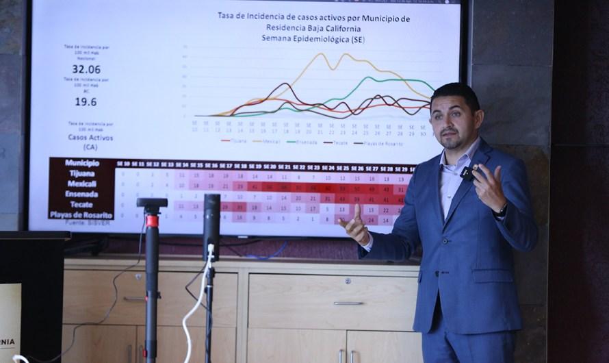 """""""Explota"""" una vez más el problema de COVID19 en Tijuana: Oscar Pérez, secretrio de Salud de Baja California"""