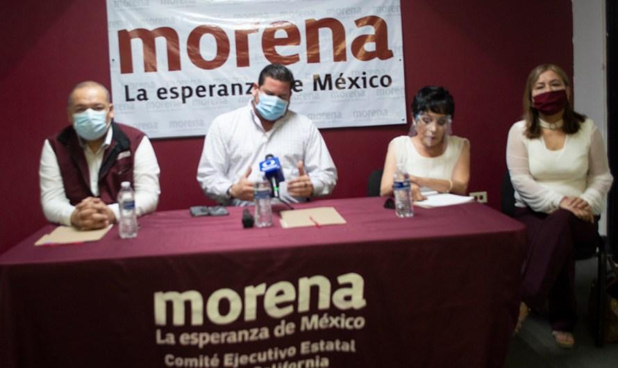 Continúa forcejeo político en sucesión de dirigencia MORENA, en B.C. y todo México, dos fuerzas chocan por el poder interno del partido