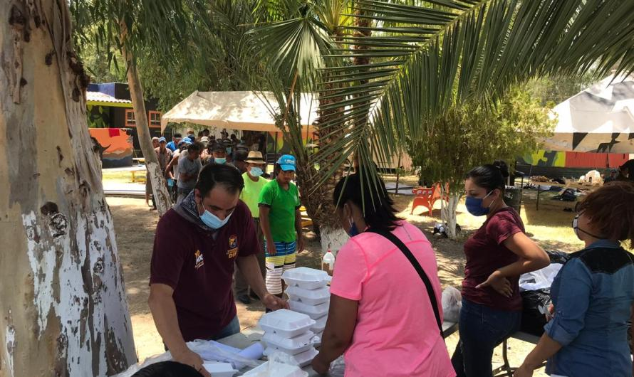 Atiende DIF Mexicali a casi 2 mil personas en situación de calle por temporada de calor de Verano: María Elena Araiza
