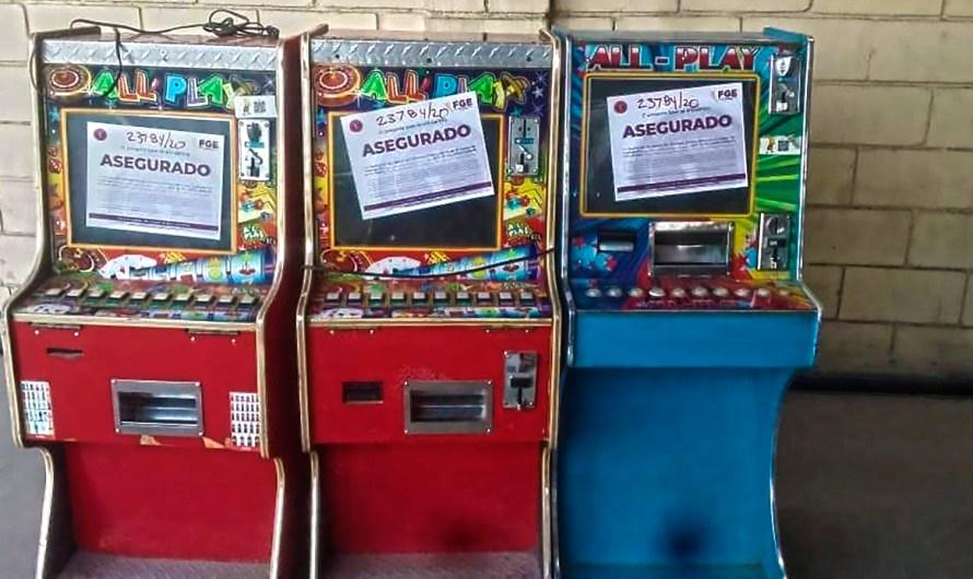 Decomisa GESI seis maquinitas tipo casino en Mexicali. «Son el inicio de la corrupción de menores»: Fiscalía General del Estado