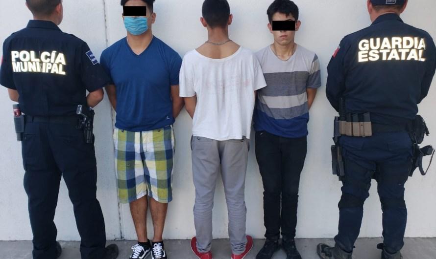 Detienen a agresores de agentes de la GESI en Tijuana, en operativo conjunto de FGE, SEDENA y Policía Municipal