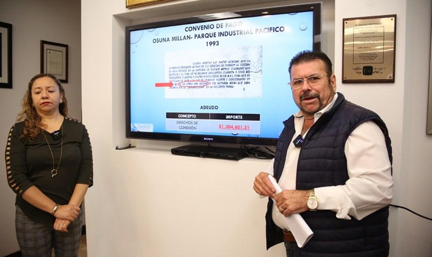 Acusa nuevamente a Osuna Millán y Kiko Vega el Gobierno del Estado, de presuntas irregularidades en manejo del agua