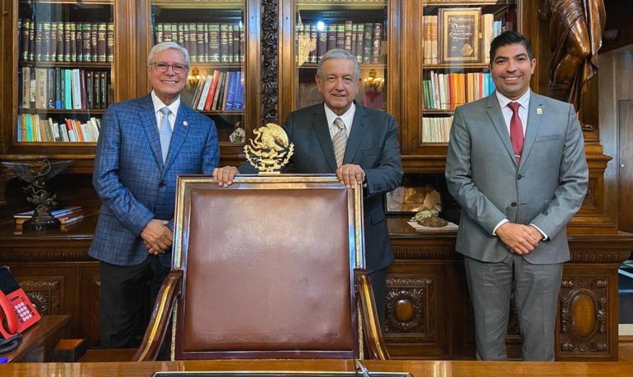 """AMLO visitará los seis municipios de Baja California en Noviembre"": Jaime Bonilla Valdez"