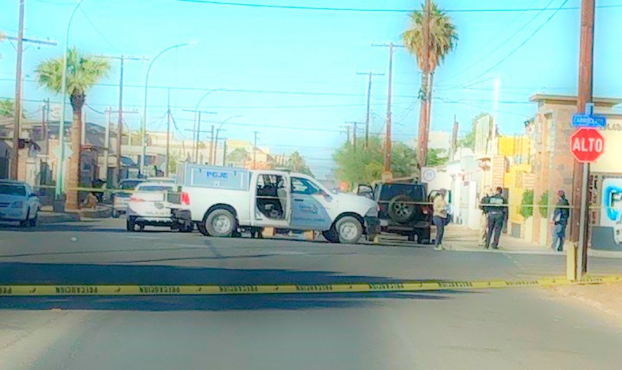 Man murdered in Mexicali on Thursday morning, he received more than 10 shots
