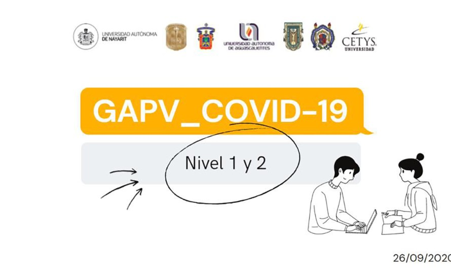 GAPV-COVID19 a psychological guide to mitigate psychological unrest during pandemics, presented by CETYS and other Universities