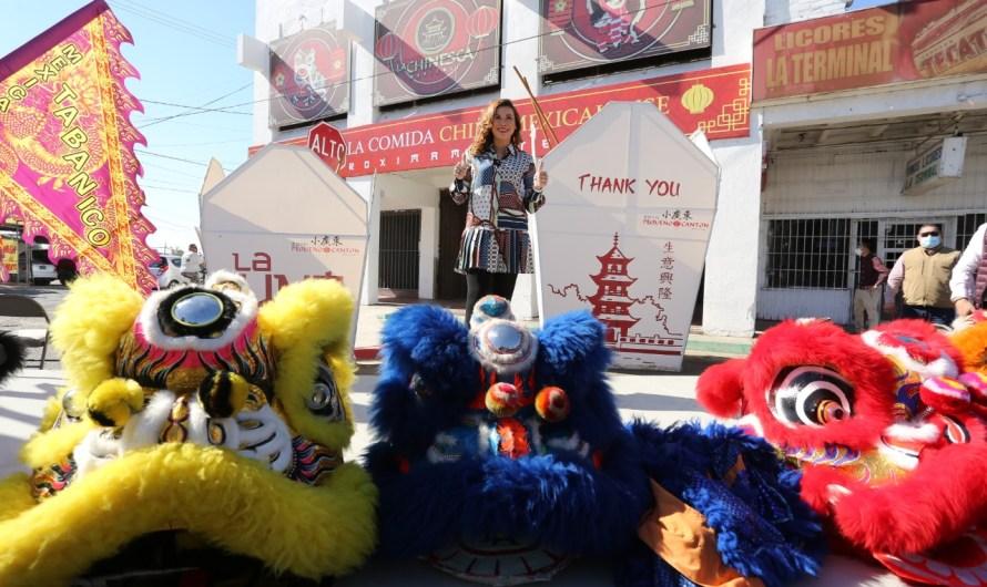 Festeja alcaldesa a residentes chinos de Mexicali, anuncia creación del Museo de Comida China