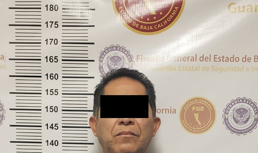 Man accused of aggravated pedophilia was arrested by State General Attormey agents in Mexicali