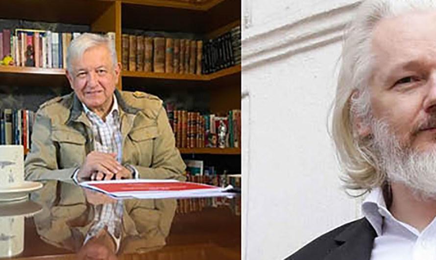 «Podría ofrecer gobierno Mexicano Asilo Político a Julian Assange»: AMLO