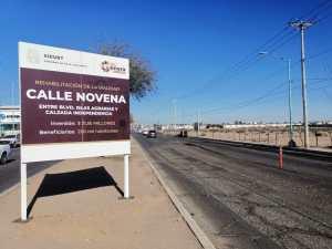 calle novena de mexicali