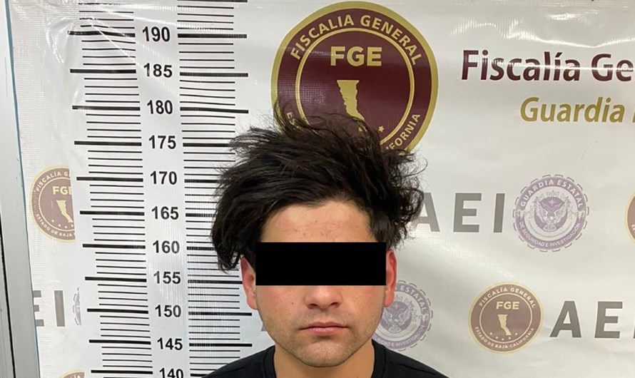 Two young men arrested in San Felipe by the FGE, accused of attempted murder and drug dealing