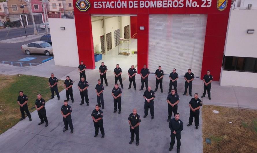 Agradece Alcaldesa Marina del Pilar Ávila Olmeda a Gobierno Federal la aplicación de vacuna a 44 bomberos de Mexicali