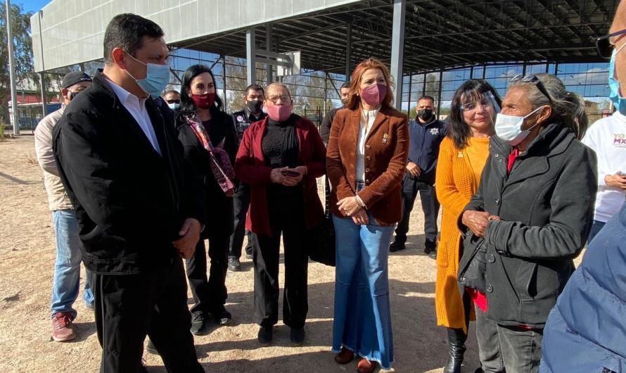 Anuncia Marina del Pilar inversión de 242 MDP para zonas marginadas de Mexicali