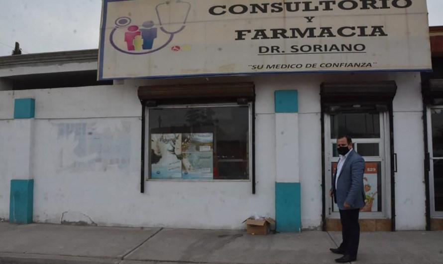 Clausura COEPRIS farmacia-consultorio operando sin licencia registro ni aviso de funcionamiento
