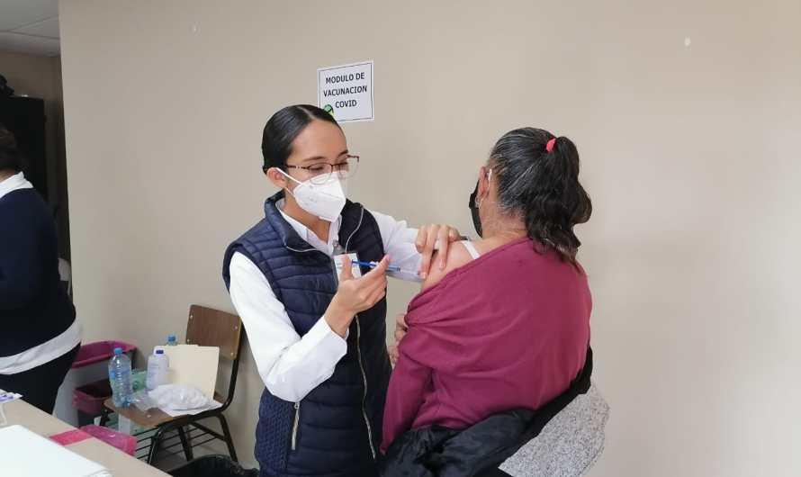 Continuará la vacunación contra COVID-19 para adultos mayores en Valle de Mexicali el 18 de febrero