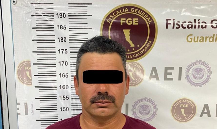 Prófugo de alta peligrosidad en los Estados Unidos, detenido en Mexicali por la Fiscalía General del Estado