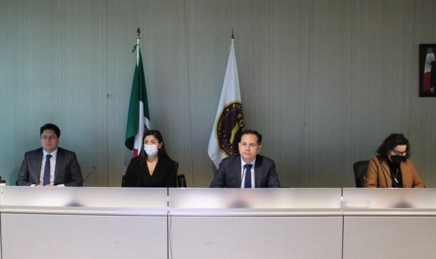 Trabaja Fiscalía General del Estado en Mesas de Trabajo para atender violencia feminicida y promover perspectiva de género