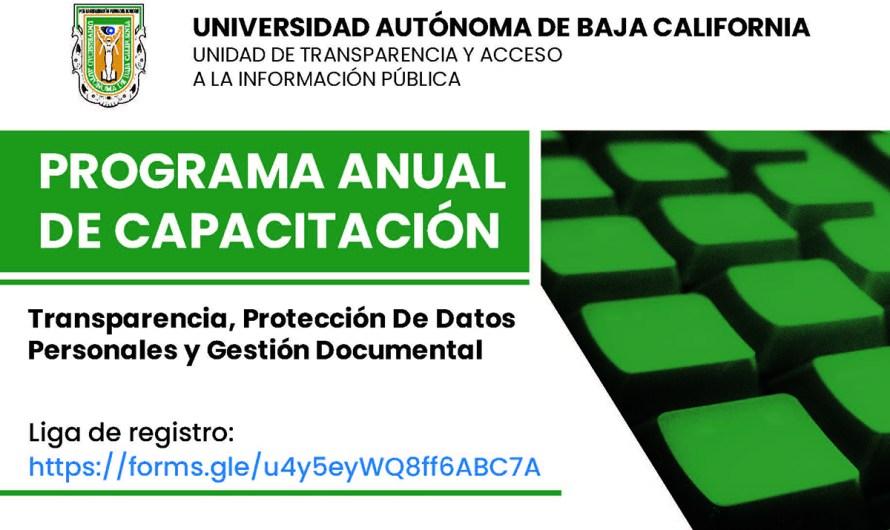 Capacitación en transparencia ofrece la Universidad Autónoma de Baja California
