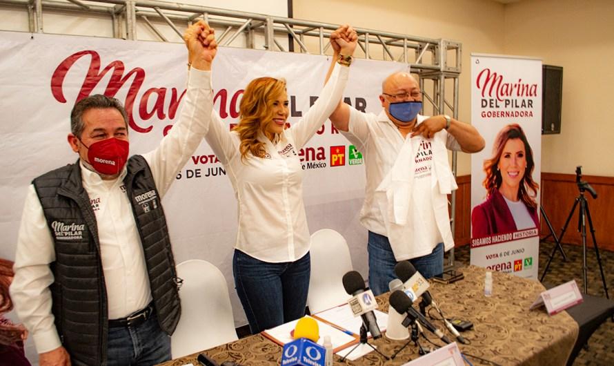 PREGUNTAS SIN RESPUESTA: Marina del Pilar Ávila Olmeda, llamadas sin atender, abandona los debates