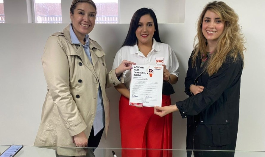 Crea Luz Elena Fonseca Red de Puntos Seguros vs la Violencia a la Mujer