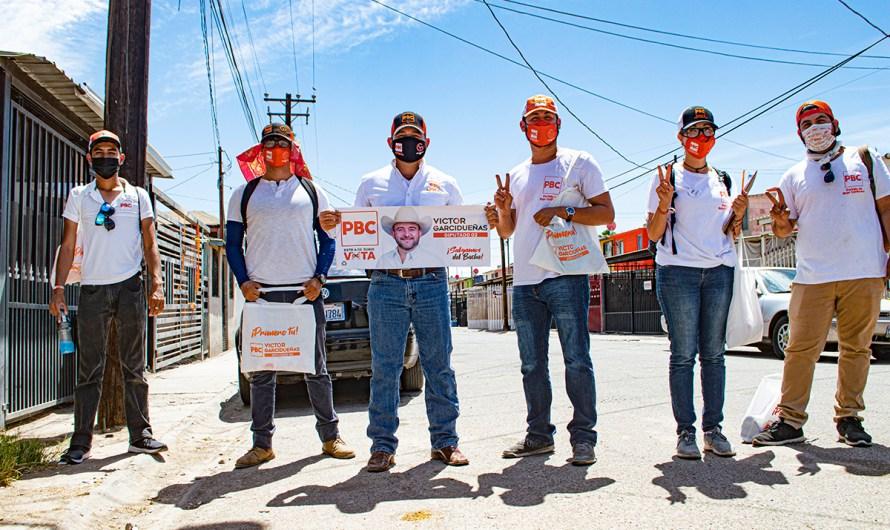 """""""Voten, pero primero revisen placas a todos"""": Víctor Garcidueñas, candidato PBC Distrito 02 de Mexicali"""