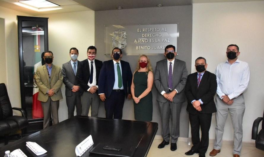 Poder Judicial BC expone Reforma Laboral a representación de Embajada de EU