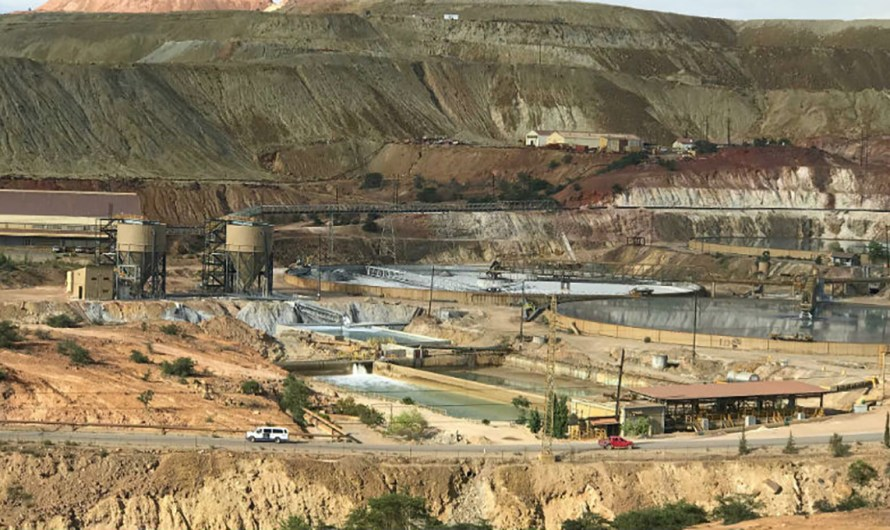Grupo Mexico to invest 3.1 billion dlls. in a copper mine, and will provide electricity to Baja California