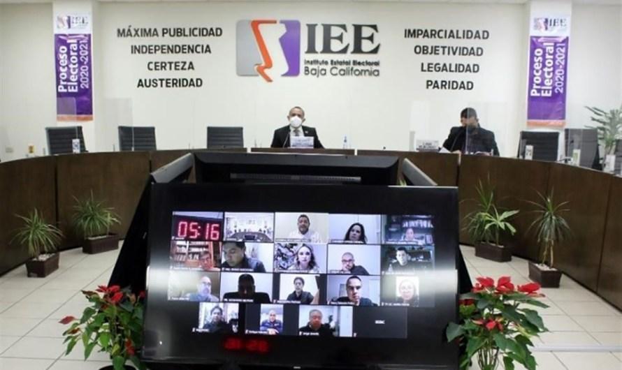 Convoca Consejo general del IEE-BC a XLVIII Sesión Extraordinaria