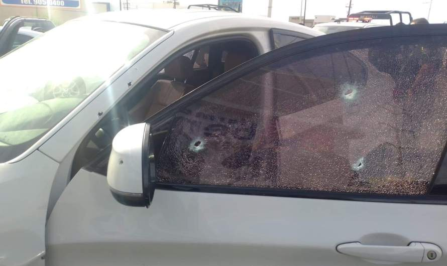 Drive-by shooting at Mexicali Golden Zone, two people shot in a BMW , 18 year old arrested, no casualties reported