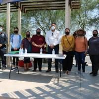 Visita fraccionamiento Condesa Pedro Mendívil, Fiscal Regional Mexicali, para conocer problemática de lso vecinos