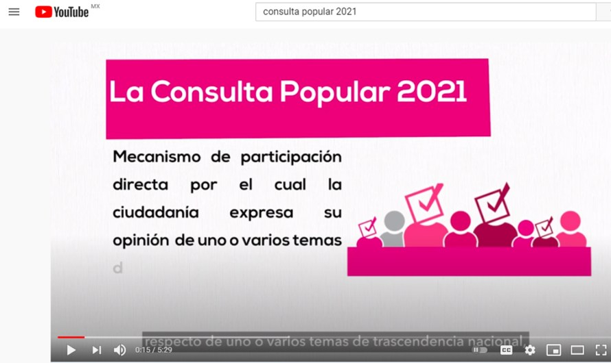 (video):¿Qué es la Consulta Popular del 1 de Agosto en México?