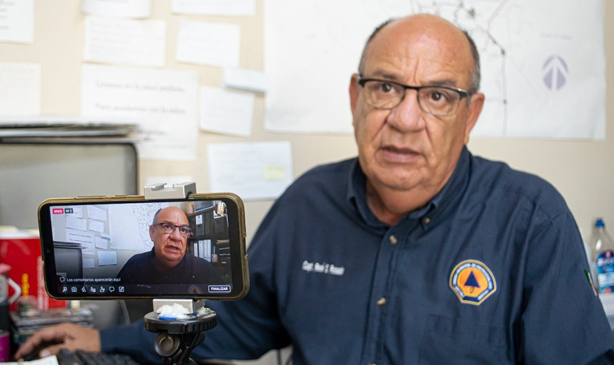 """""""Atypical summer in Mexicali, two days above 123 Fahrenheit this week"""": Civil Protection director Rene Rosado"""