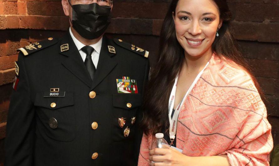 Recibe director de la Guardia Nacional a la diputada electa Julieta Ramírez Padilla