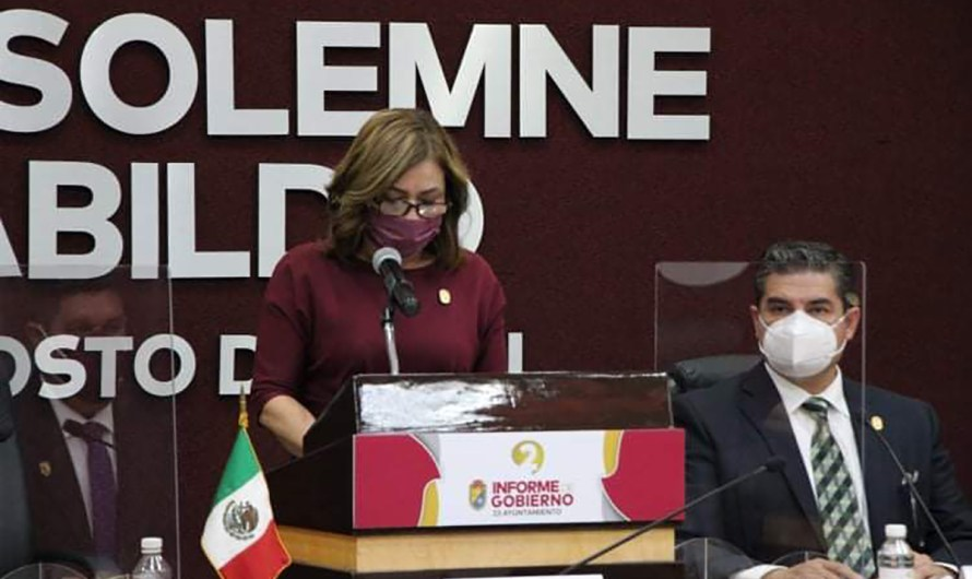 Rinde Informe de Gobierno Lupita Mora Quiñonez, alcaldesa sustituta de Mexicali: ¿Segundo o primero?