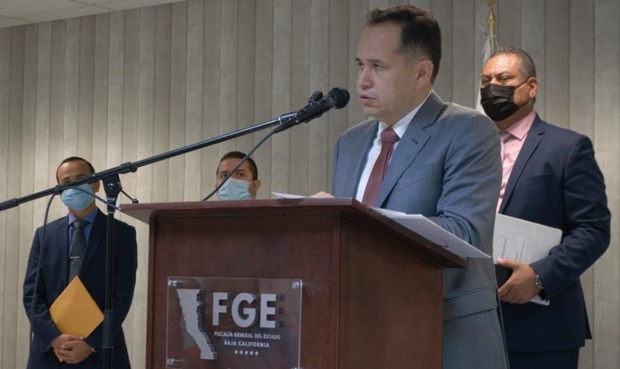 Detiene FGE el Balín y el Maleno presuntos asesinos de Fernando Rosas en el Valle de Mexicali