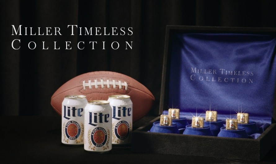 Miller Lite Introduces Miller Timeless Collection, A 'Heartbreakingly Beautiful' Set Of Gem-Encrusted, 10K Gold Rings To Celebrate The Return Of Football
