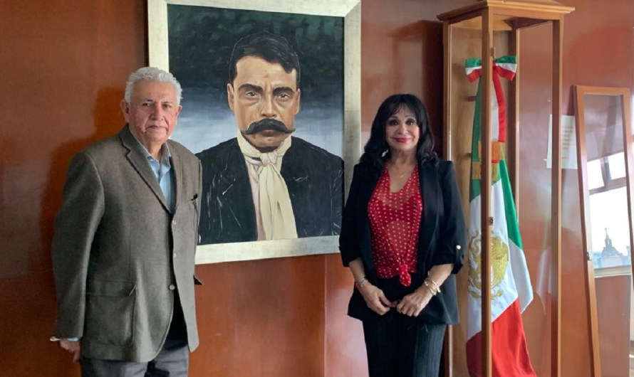 Gestiona alcaldesa electa de Mexicali Norma Bustamante ante funcionnarios federales en gira de trabajo por CdMx