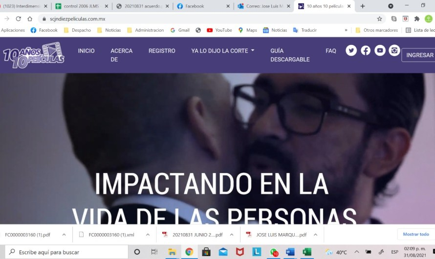 Documental de primer matrimonio igualitario y familia homoparental de Baja California en plataforma de SCJN