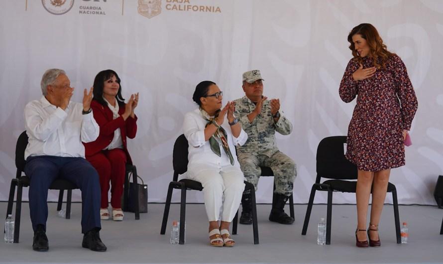 «Coordinaremos políticas públicas federales y estatales»: Marina del Pilar con AMLO