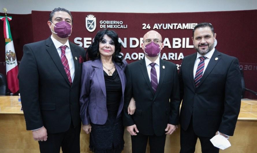Aprueba Cabildo propuestas de Norma Bustamante para Tesorero, Diretor de Seguridad y Secretario de 24 Ayuntamiento de Mexicali