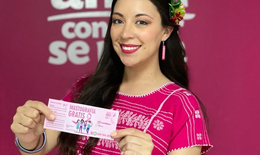 Apoya a mujeres con mastografías gratuitas la diputada federal Julieta Ramírez Padilla